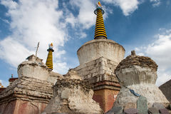 Stupa in Lamayuru fotografie stock