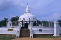 Stupa of Lankarama, Anuradhapura  Sri Lanka Royalty Free Stock Image