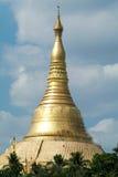 The stupa of Maha Wizaya Paya pagoda at Yangon Royalty Free Stock Photography
