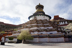Stupa in monastery Stock Images