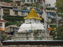 Stupa in Namche Bazaar, Everest Region Stock Photography