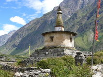Stupa near Nile village Stock Photography