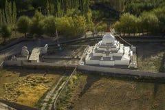 Stupa near Shey palace Leh Ladakh ,India. Royalty Free Stock Photos