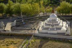 Stupa near Shey palace Leh Ladakh ,India. Stock Photo