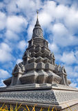 Stupa near the Silver Pagoda in Phnom Penh, Cambodia Stock Image
