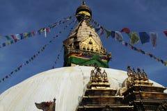 Stupa nel Nepal Immagini Stock Libere da Diritti