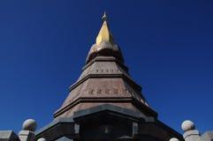 Stupa nel Norht della Tailandia fotografia stock libera da diritti