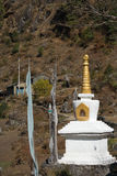 Stupa in Nepal Stockfotos