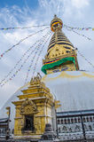 Stupa in the  Nepal Stock Photography