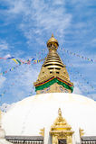 Stupa in the  Nepal Royalty Free Stock Image
