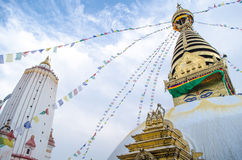 Stupa in the  Nepal Stock Photos