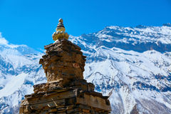 Stupa in Nepal Royalty Free Stock Images
