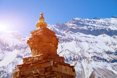 Stupa in Nepal Stock Photography