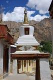 Stupa no monastério de Likir em Ladakh, Índia Fotos de Stock Royalty Free