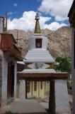 Stupa no monastério de Likir em Ladakh, Índia Fotos de Stock