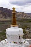Stupa no palácio de Yumbulakhang, vale de negligência de Yarlung - Tibet Fotografia de Stock Royalty Free