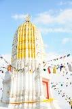 Stupa no templo de Watyai fotografia de stock royalty free