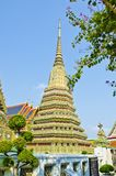 Stupa in Old Temple Wat Pho Royalty Free Stock Photography