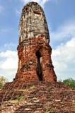 Stupa på Wat Lokayasutha Fotografering för Bildbyråer