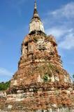 Stupa på Wat Phra Mahathat Arkivbild