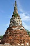 Stupa på Wat Phra Mahathat Fotografering för Bildbyråer