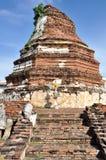 Stupa på Wat Thammikarat Royaltyfria Foton