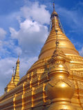 Stupa from the Paya Kuthodaw , Mandalay , Myanmar Stock Images