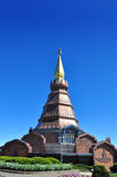 The Stupa Phra Mahathat Naphamethanidon Royalty Free Stock Photos