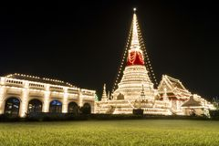 The stupa at Phra Samut Chedi Stock Photo