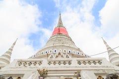 The stupa at Phra Samut Chedi in Samut Prakan Royalty Free Stock Photo