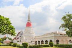 The stupa at Phra Samut Chedi in Samut Prakan Royalty Free Stock Images