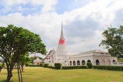 The stupa at Phra Samut Chedi in Samut Prakan Royalty Free Stock Image
