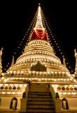 The stupa at Phra Samut Chedi in Samut Prakan Stock Photos