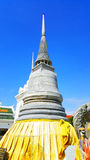 Stupa an Phrabuddhabat-Tempel, Thailand Stockfotos