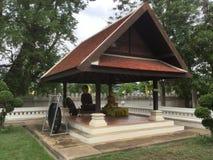 Stupa Phrathat Kham Kaen Stock Photography