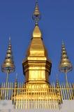 Stupa at Phu Si Hill Royalty Free Stock Photography