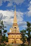 Stupa in Phuket, Thailand stock foto's