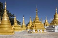 Pindaya świątynia Pindaya, Myanmar - Obraz Royalty Free