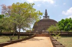 Stupa Pollonaruwa Sri Lanka Lizenzfreies Stockfoto