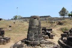 Stupa in ratu boko palace Royalty Free Stock Image
