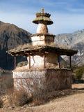 Stupa in Ringmogaon Stock Photography