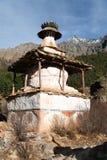 Stupa in Ringmogaon Stock Images