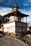 Stupa in Ringmogaon Royalty Free Stock Photos