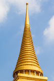 Stupa roof Stock Photography