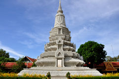 Stupa at the Royal Palace Stock Photos