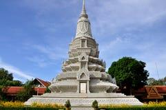 Stupa at the Royal Palace. The Stupa at the Royal Palace in Phnom Penh,Cambodia Stock Photos