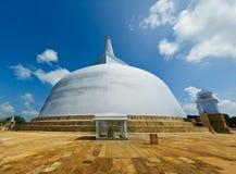 stupa ruvanmali της Maha anuradhapura Στοκ φωτογραφία με δικαίωμα ελεύθερης χρήσης