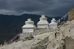 Stupa in Shey Immagine Stock Libera da Diritti