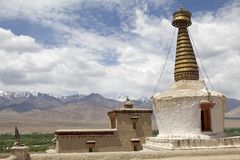 Stupa at the Shey Monastery, Ladakh, India Royalty Free Stock Photography