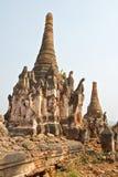 Stupa Shwe dans Tain image stock